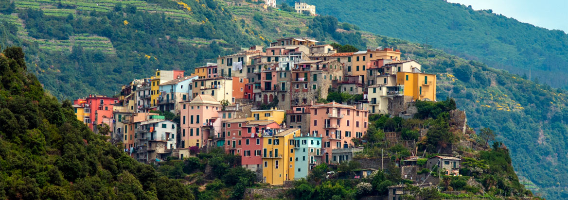 The perched village of Corniglia